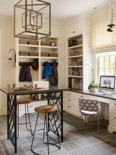 Laundry Craft Room Combo Design 16