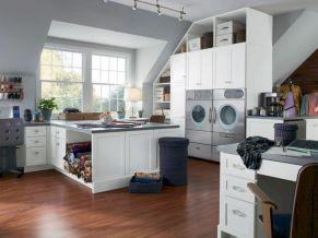 Laundry Craft Room Combo Design 17