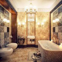 Modern Vintage Bathroom Design 12