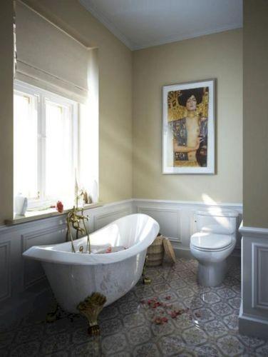 Modern Vintage Bathroom Design 18