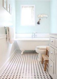Modern Vintage Bathroom Design 22