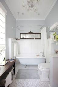 Modern Vintage Bathroom Design 23