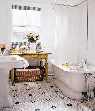 Modern Vintage Bathroom Design 5