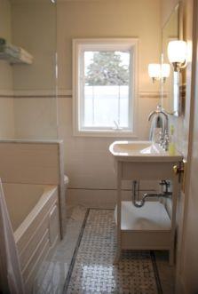 Modern Vintage Bathroom Design 6