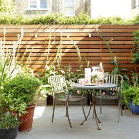 Backyard Garden Ideas With Seating Area 1