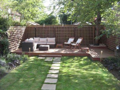 Backyard Garden Ideas With Seating Area 13