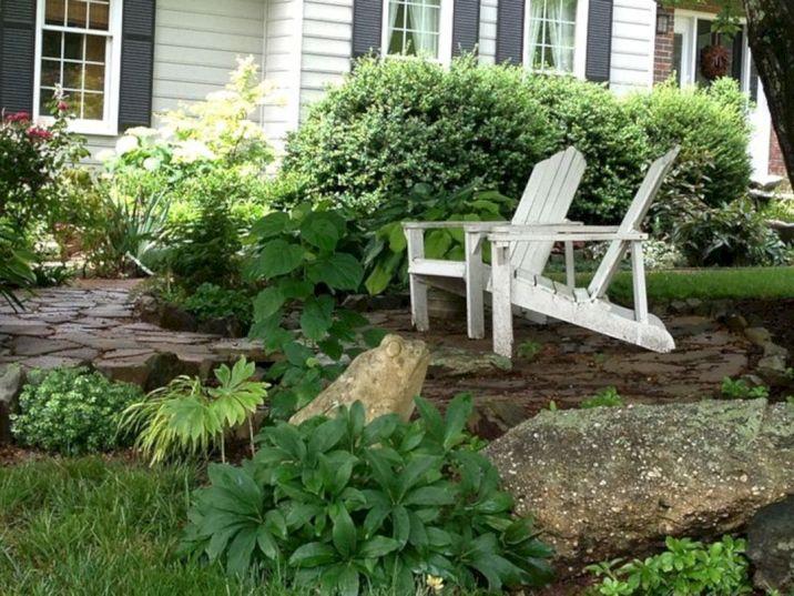Backyard Garden Ideas With Seating Area 15