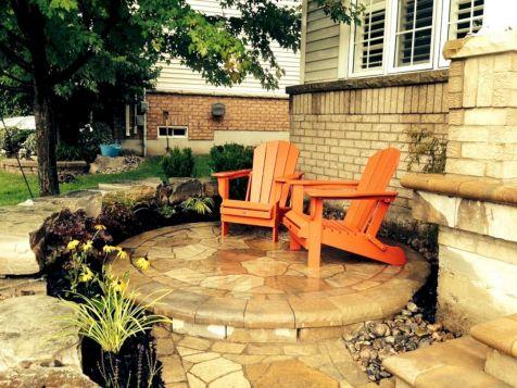 Backyard Garden Ideas With Seating Area 3