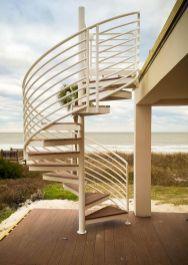 Exterior Spiral Staircase Ideas 25