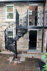 Exterior Spiral Staircase Ideas 3