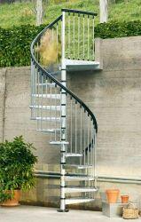 Exterior Spiral Staircase Ideas 4
