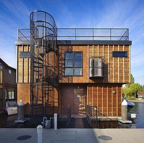 Exterior Spiral Staircase Ideas 6