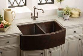 Farmhouse Sinks Design For Kitchen 12