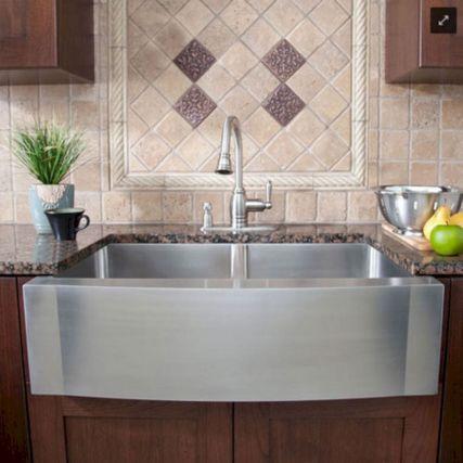 Farmhouse Sinks Design For Kitchen 15