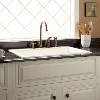 Farmhouse Sinks Design For Kitchen 22