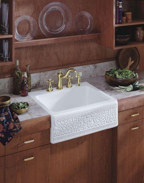 Farmhouse Sinks Design For Kitchen 3
