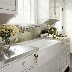 Farmhouse Sinks Design For Kitchen 5