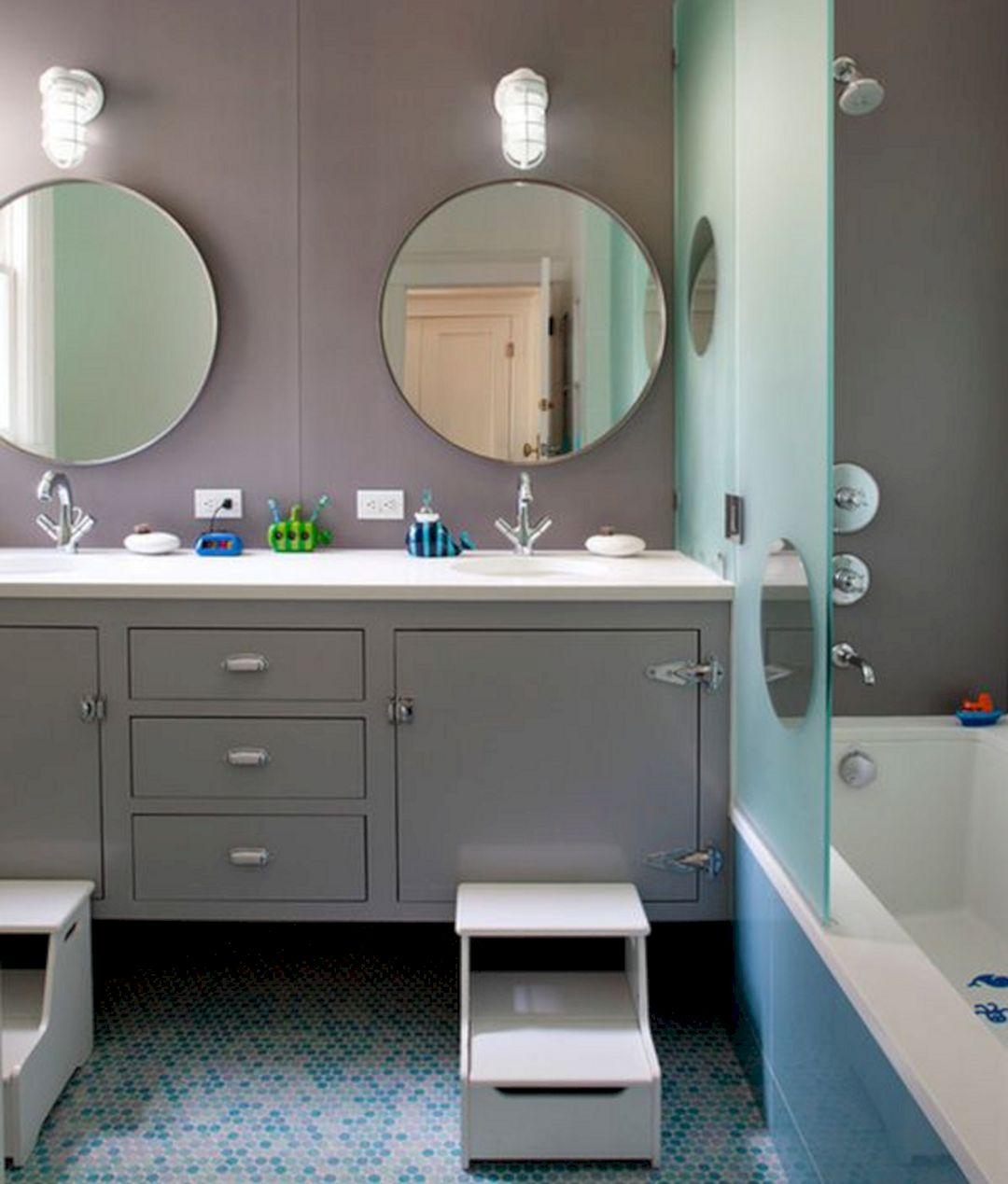 Kids Bathroom Design 15