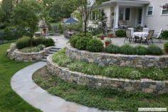 Slope Backyard Design 11