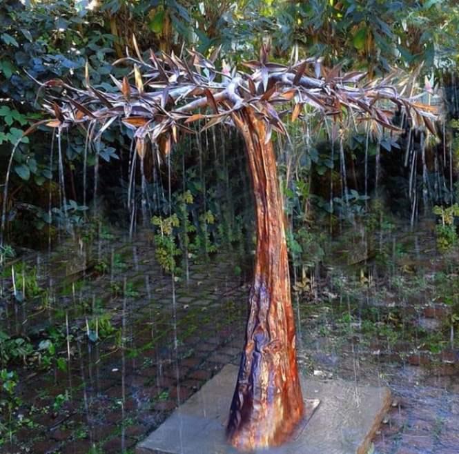 Erfly Garden Decor Copper Dripper Fountain