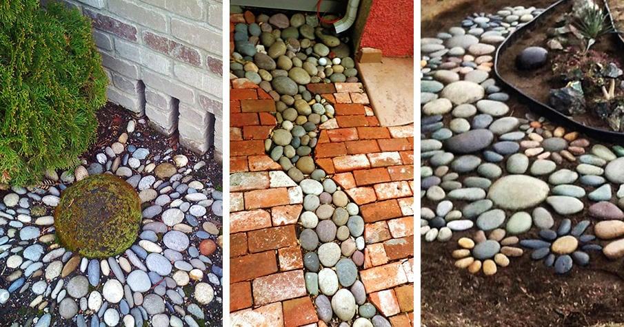 25 River Rock Garden Ideas For Beautiful Diy Designs