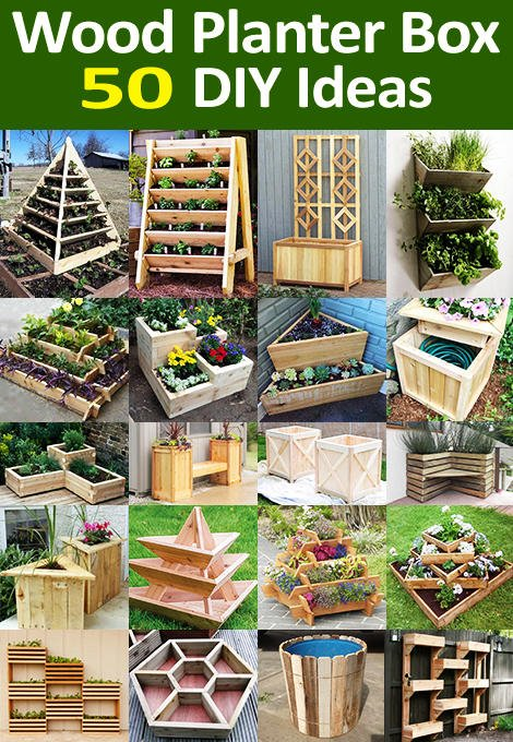 50 Wooden Planter Box Ideas And Diy Designs Of Every Geometric Form