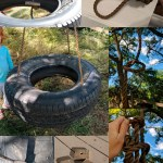 18 Diy Tree Swing Ideas With Rope Wood Seat Or A Tire