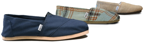 TOMS Shoes Wins Peoples Design Award