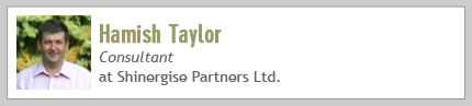Hamish Taylor, Consultant at Shinergise Partners Ltd.