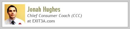 Jonah Hughes, Chief Consumer Coach at EXITA.com