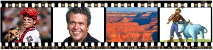 Memories on Film, Ron White, Ivan Rodriguez, Grand Canyon, Paul Bunyan