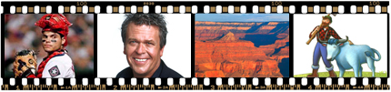 Memories on Film, Ron White, Ivan Rodriguez, Grand Canyon, Paul Bunyan