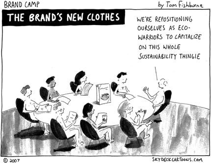 Brands New Clothes Cartoon