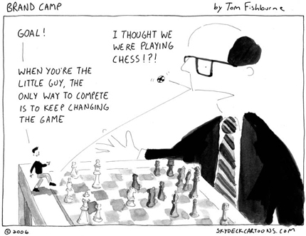 Changing the Game Cartoon