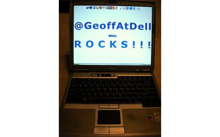 @GeoffAtDell Rocks