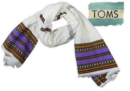 Ethiopian Scarf Toms Shoes