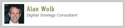 Alan Wolk, Digital Strategy Consultant