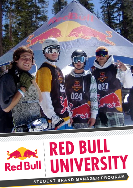 Red Bull University Student Brand Managers