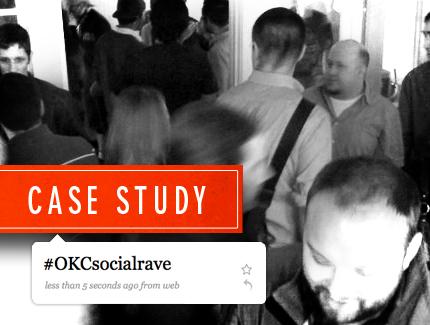 Oklahoma City OKCsocialrave Twitter Case Study