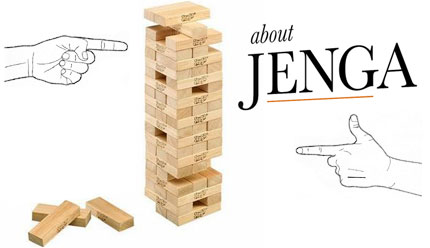 About Jenga, The Book about the game