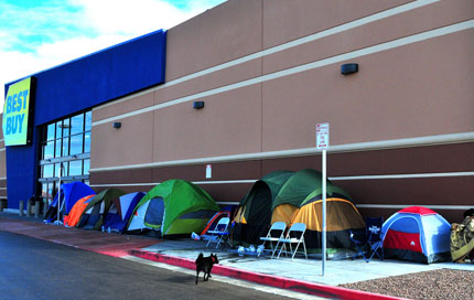 Black Friday Best Buy Campout