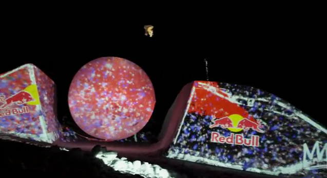 Red Bull Creates an Extreme Projected Experience