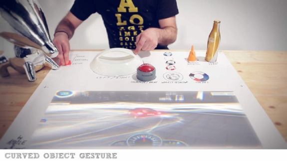 Turn Any Object Into A Touch Screen Element