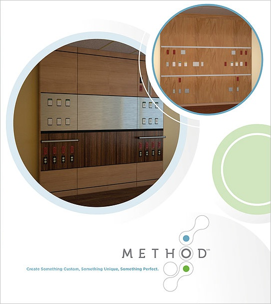 Method Brochure Design Outside