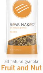 Bear Naked Natural Granola Packaging