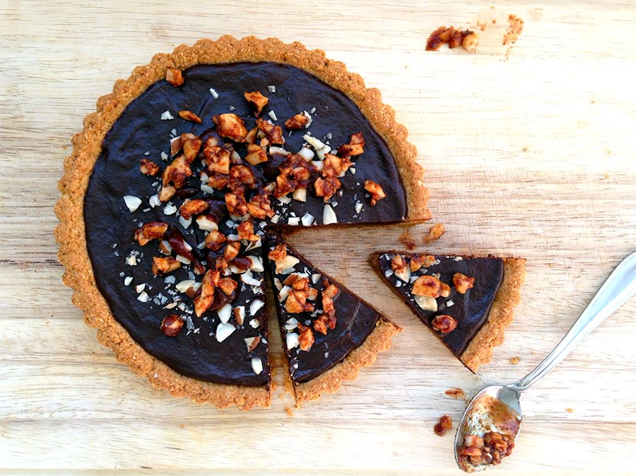 Montezuma's Spicy Chocolate Tart - Fresh Planet Flavor