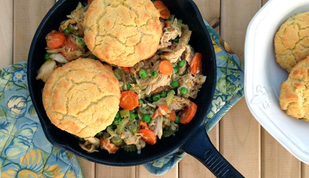 Paleo Chicken and Biscuits - Grok Grub