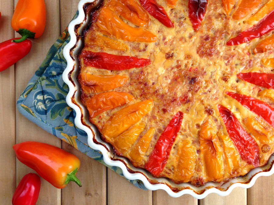 Sweet Pepper Quiche - Fresh Planet Flavor
