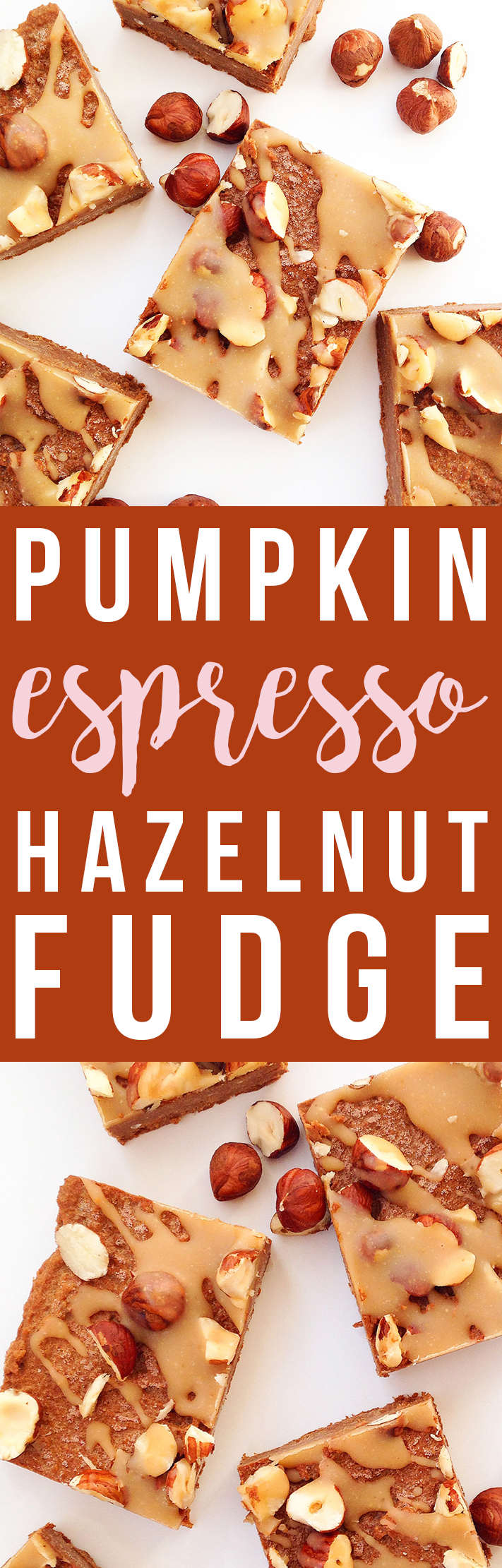 Pumpkin Espresso Hazelnut Fudge (Vegan, Paleo, Raw) | Fresh Planet Flavor