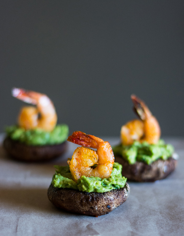 Shrimp and Avocado Stuffed Mushrooms - 12 Fresh Avocado Recipes | GrokGrub.comShrimp and Avocado Stuffed Mushrooms - 12 Fresh Avocado Recipes | GrokGrub.com